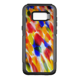 Rainbow Of Colorful Smears on White OtterBox Commuter Samsung Galaxy S8+ Case