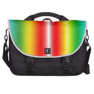 Rainbow of colours bag for laptop
