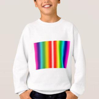 Rainbow of colours sweatshirt
