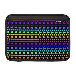 Rainbow of Dots iPad / laptop sleeve