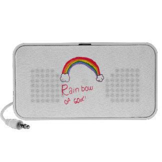 Rainbow of God Mini Speakers