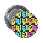 RAINBOW OF HOPE WITH OBAMA PINBACK BUTTONS