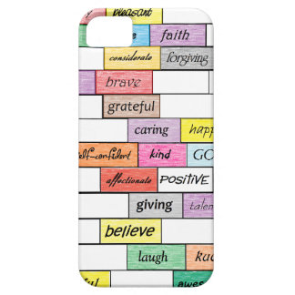 Rainbow of Inspirational Graffiti iPhone 5 Case