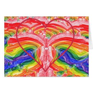 Rainbow of Love Card