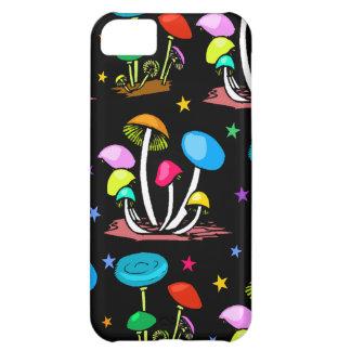 Rainbow Of Mushrooms iPhone 5C Case