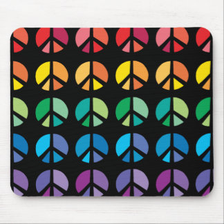 Rainbow  of PEACE Mouse pad