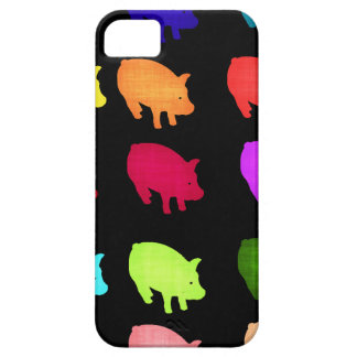 Rainbow Of Piggies iPhone 5 Covers