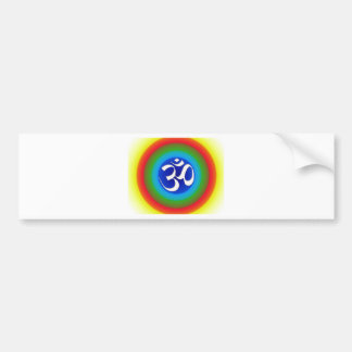 Rainbow_om Bumper Sticker
