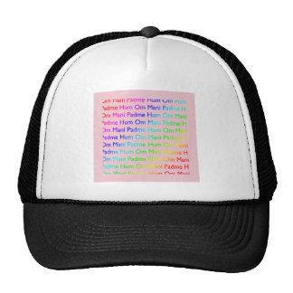 Rainbow Om Mani Padme Hum Cap