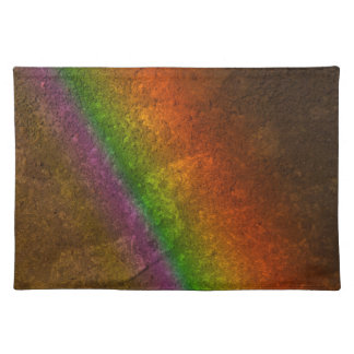 Rainbow On Stone Placemat