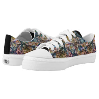 Rainbow Ore Shoes Printed Shoes