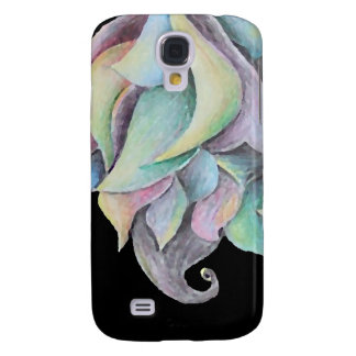 Rainbow Organic Abstract Galaxy S4 Case