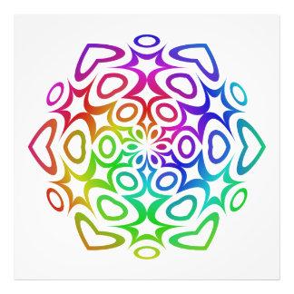 Rainbow ornament photograph
