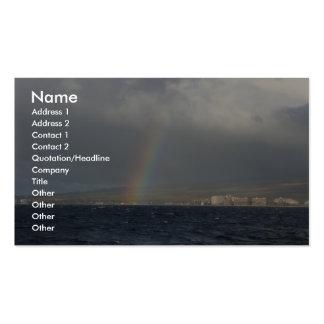 Rainbow Over Hawaiian Business Card