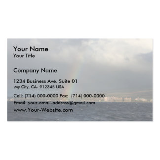 Rainbow Over Hawaiian Business Cards