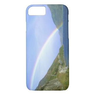 Rainbow over Hawea Lake, South Island, New iPhone 7 Case