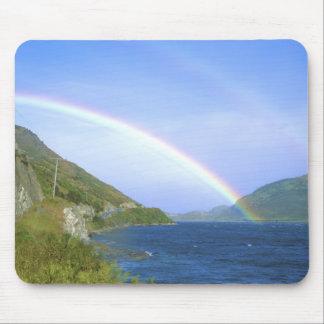Rainbow over Hawea Lake, South Island, New Mouse Pad