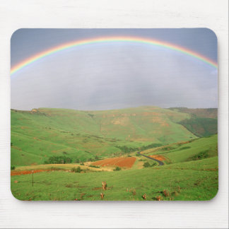 Rainbow Over Hills, Eastern Cape, South Africa Mouse Pad