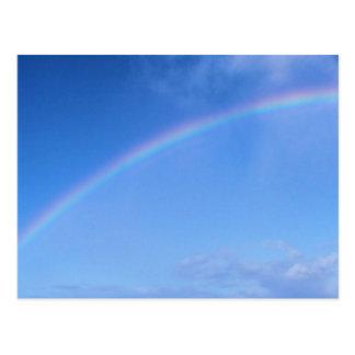 Rainbow over Honolulu, Hawaii Postcards