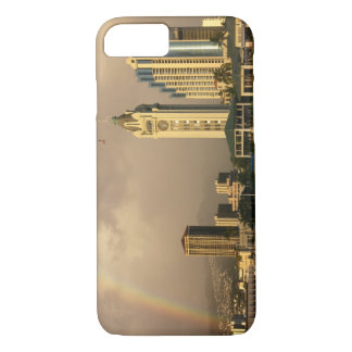 Rainbow over Honolulu, Hawaii, USA 2 iPhone 8/7 Case