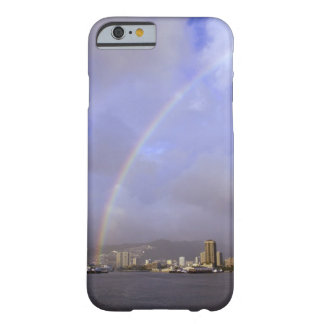 Rainbow over Honolulu, Hawaii, USA Barely There iPhone 6 Case