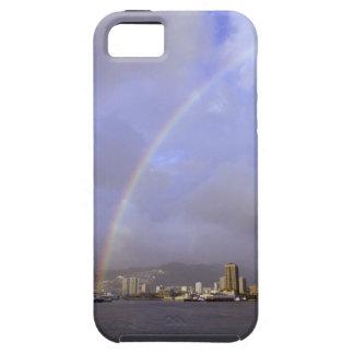 Rainbow over Honolulu, Hawaii, USA Case For The iPhone 5