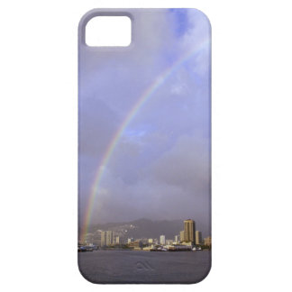 Rainbow over Honolulu, Hawaii, USA iPhone 5 Covers