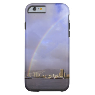 Rainbow over Honolulu, Hawaii, USA Tough iPhone 6 Case