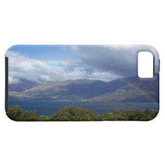 Rainbow over Lake Wanaka, New Zealand iPhone 5 Case