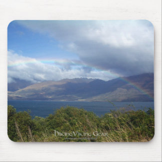 Rainbow over Lake Wanaka, New Zealand Mouse Pad