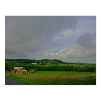 Rainbow Over Middle Creek Post Card