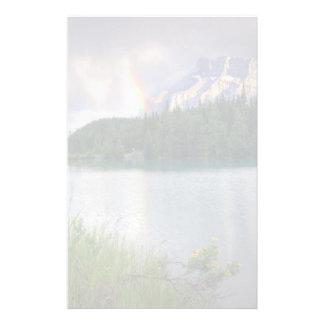 Rainbow over Mountain Stationery