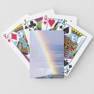 Rainbow Over Niagara Falls, New York Bicycle Playing Cards