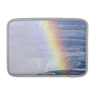 Rainbow Over Niagara Falls, New York Sleeve For MacBook Air