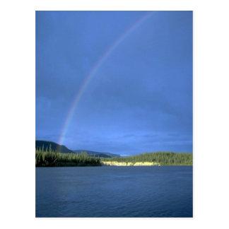 Rainbow over the Nahanni River, NWT, Canada Post Card