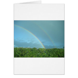 Rainbow over Warwickshire Card