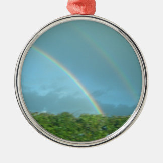 Rainbow over Warwickshire Christmas Ornament