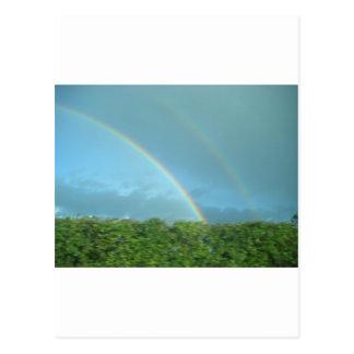 Rainbow over Warwickshire Postcard