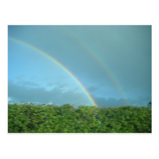 Rainbow over Warwickshire Post Cards