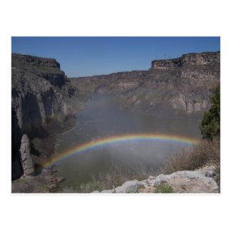 Rainbow Over Water Postcards