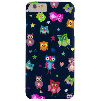 Rainbow owls barely there iPhone 6 plus case