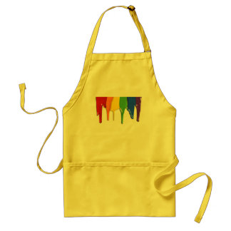 RAINBOW PAINT DRIPPINGS -.png Standard Apron