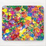 Rainbow Paint Splatter
