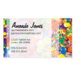 Rainbow Paint Splatter Pack Of Standard Business Cards