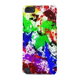 Rainbow Paint Splatter iPod Touch (5th Generation) Covers