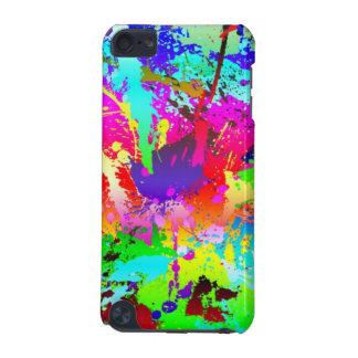 Rainbow Paint Splatter iPod Touch 5G Case