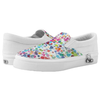 Rainbow Paint Splatter Sneakers