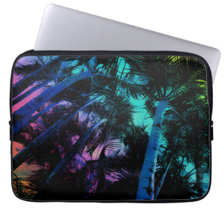 Rainbow Palm Trees Laptop Sleeve