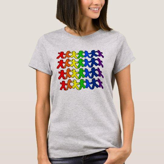 Rainbow Paper Doll Pride T-Shirt