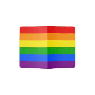 RAINBOW PASSPORT HOLDER